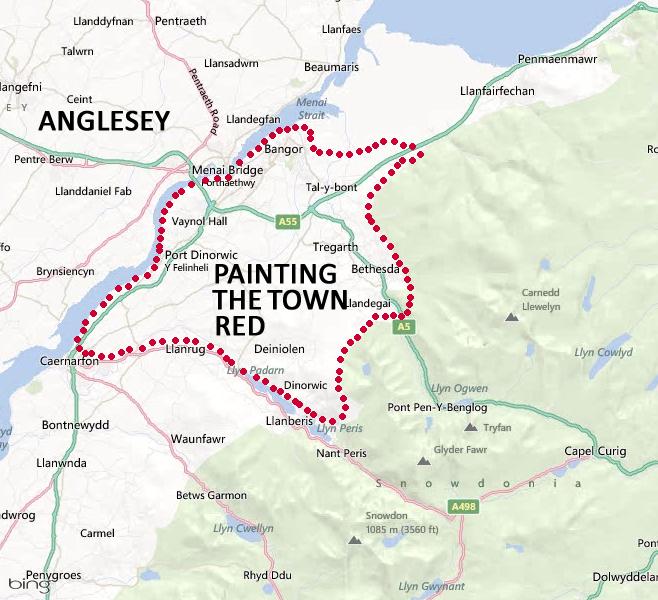 Gwynedd Map 2b